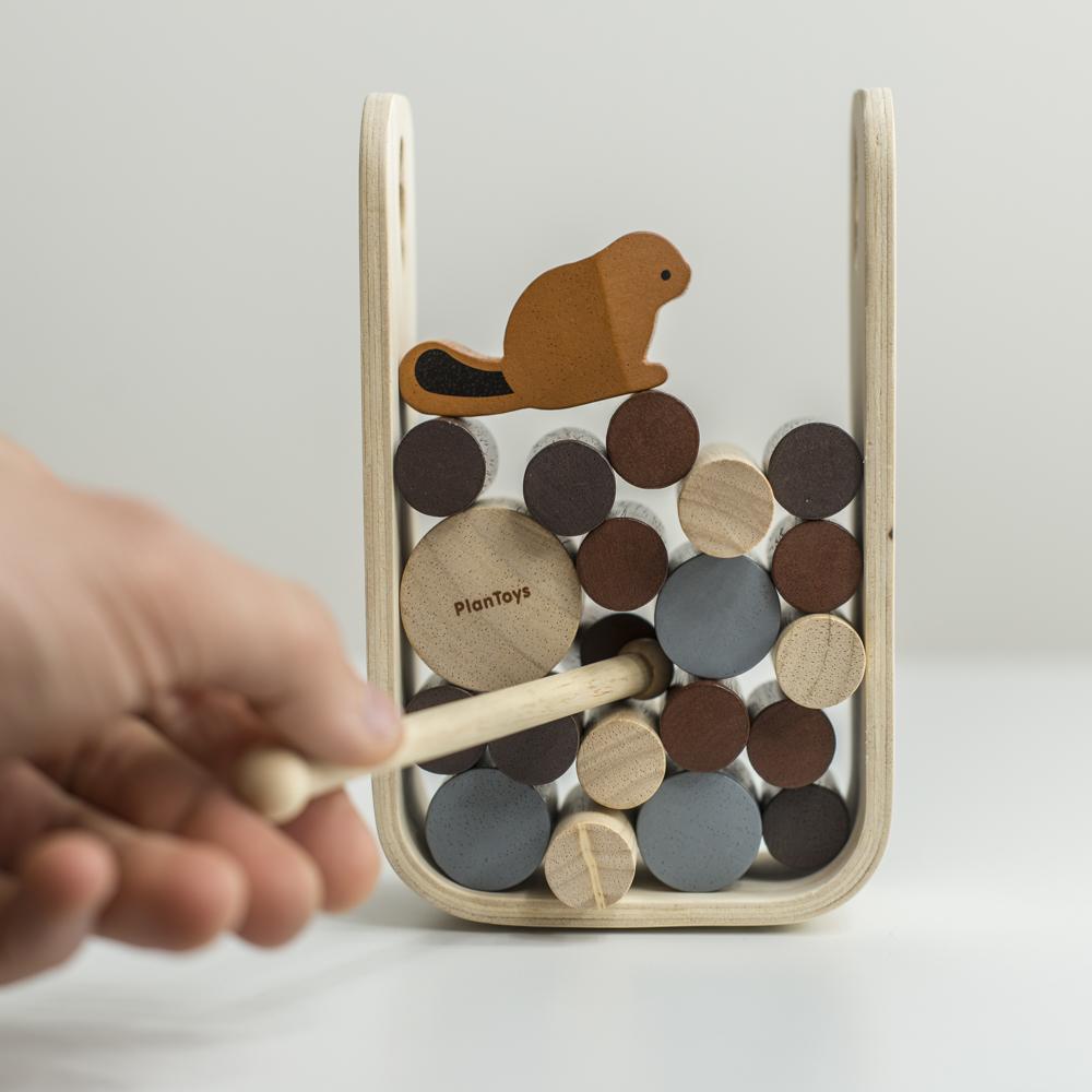 Hód egyensúlyozó játék
