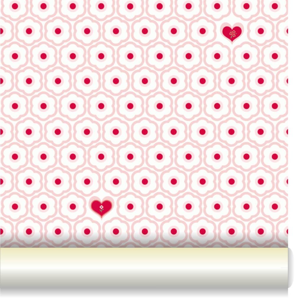 Tapéta - Kis szívek