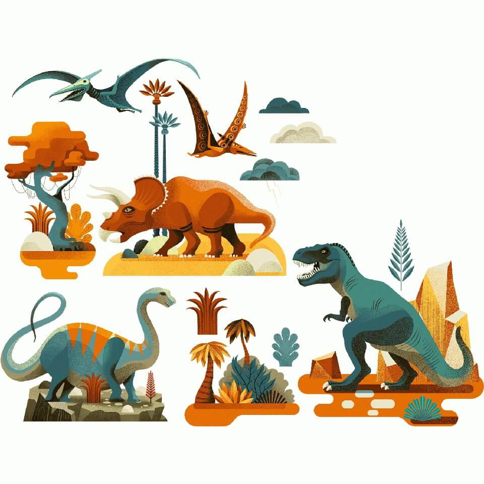 Ablakmatrica - Dino