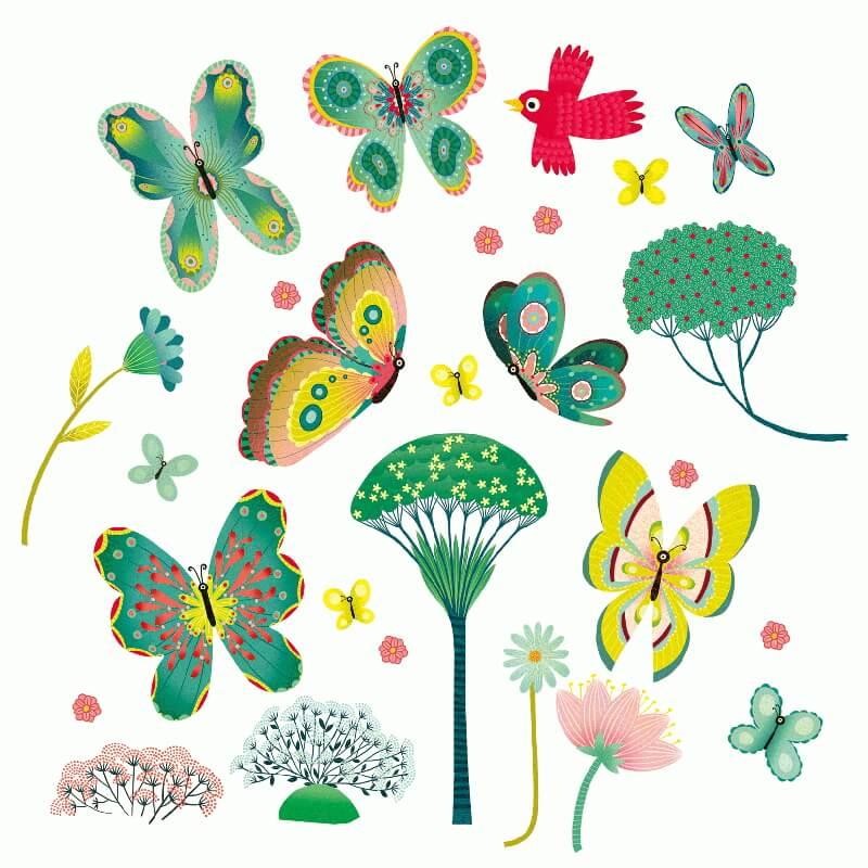 Ablakmatrica - Pillangó