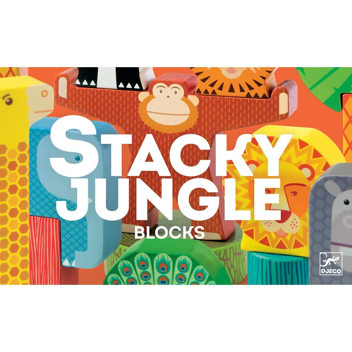 Építőjáték - Stacky jungle