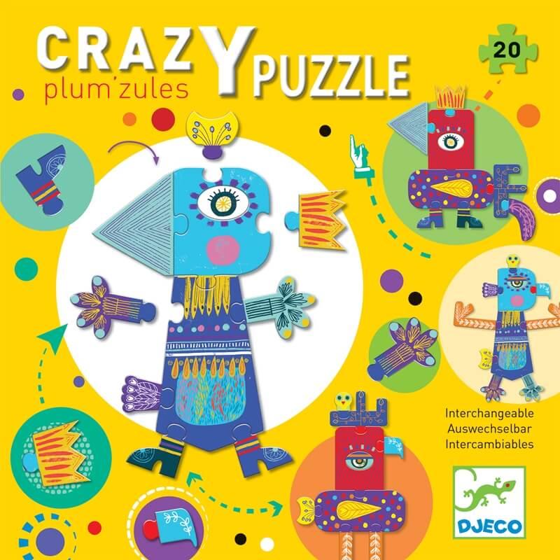 Óriás puzzle - Plum'zules (20 db)