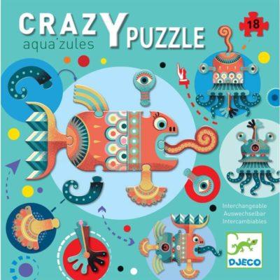 Óriás puzzle - Aqua'zules (18 db)