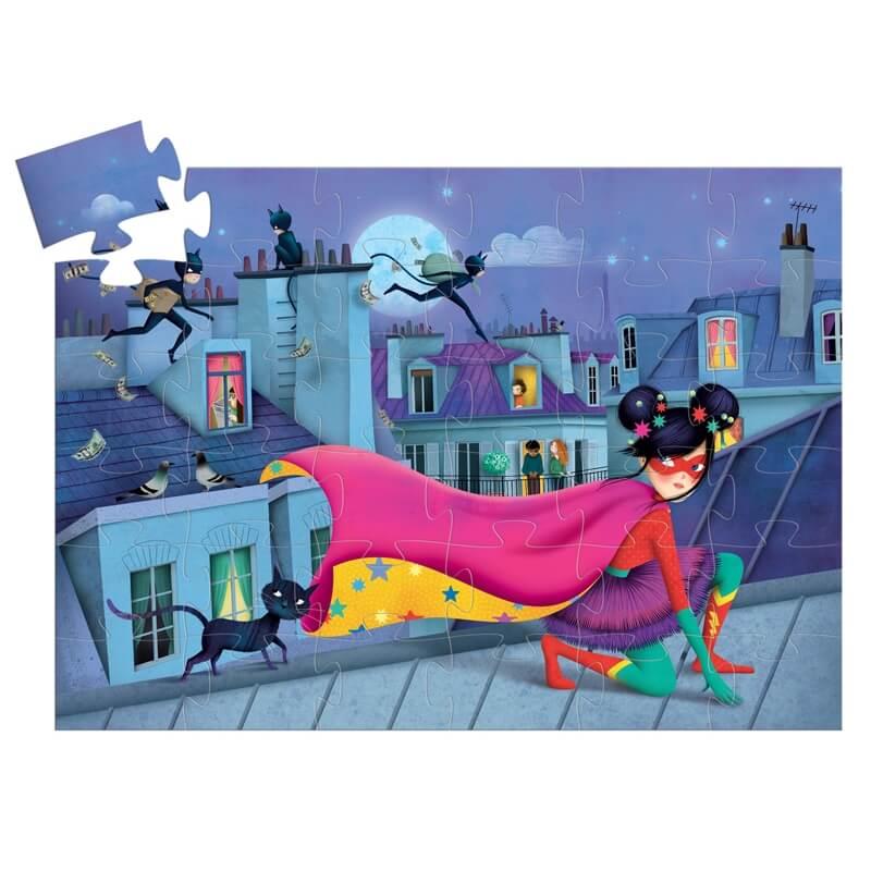 Formadobozos puzzle - Szupersztár