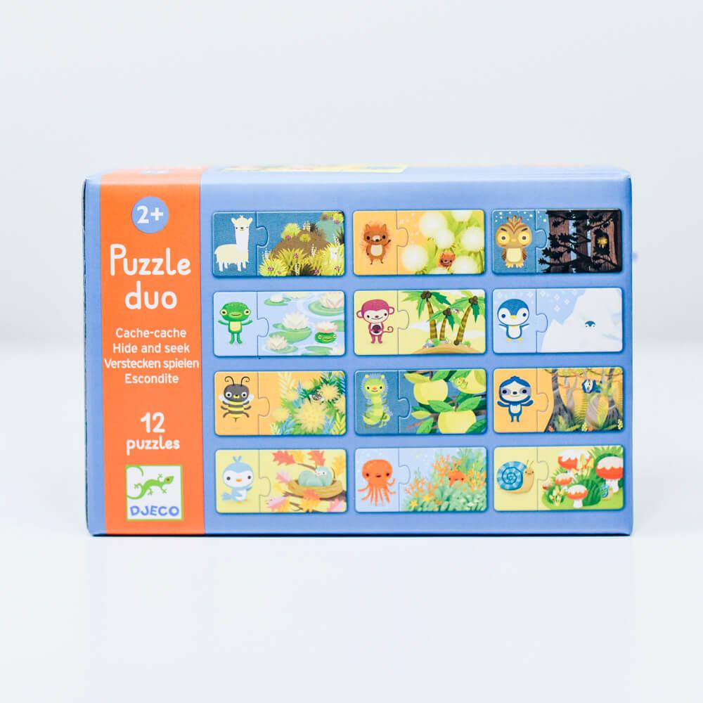 Párosító puzzle - Bujocska