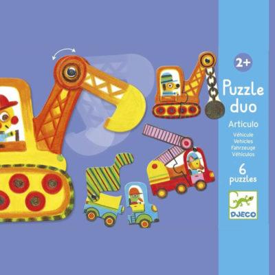 Párosító puzzle - Munkagépek