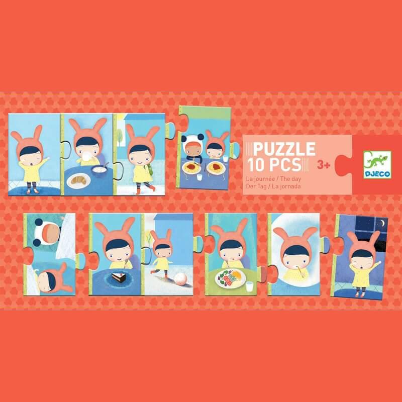 Párosító puzzle - Napom