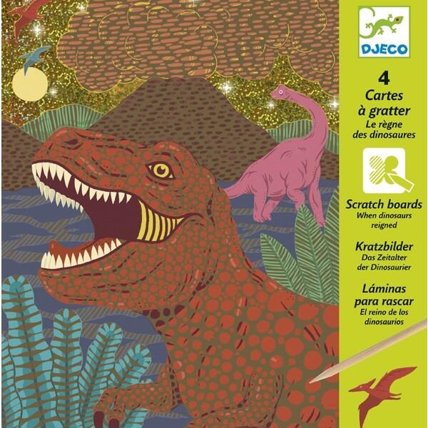 Karckép technika - Dinoszauruszok