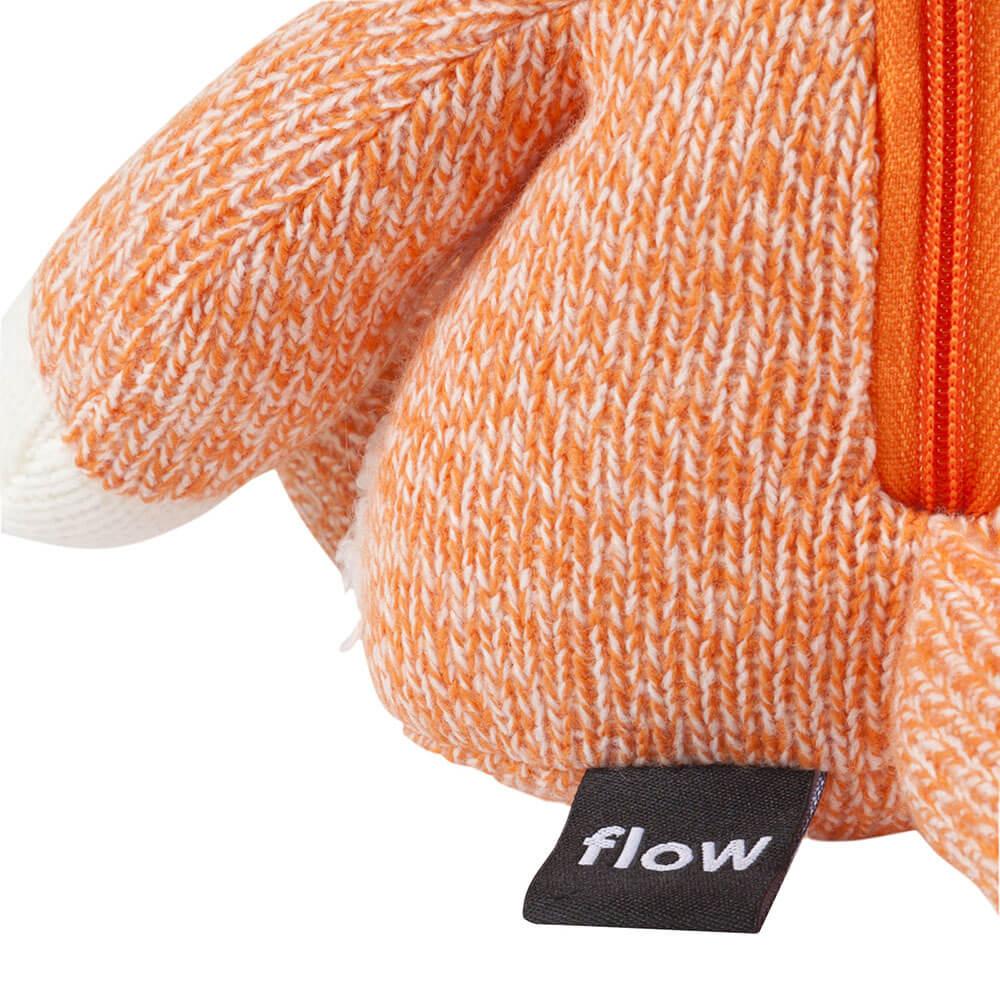 Zenélő vigasztaló plüss - Robin - Róka - Narancssárga