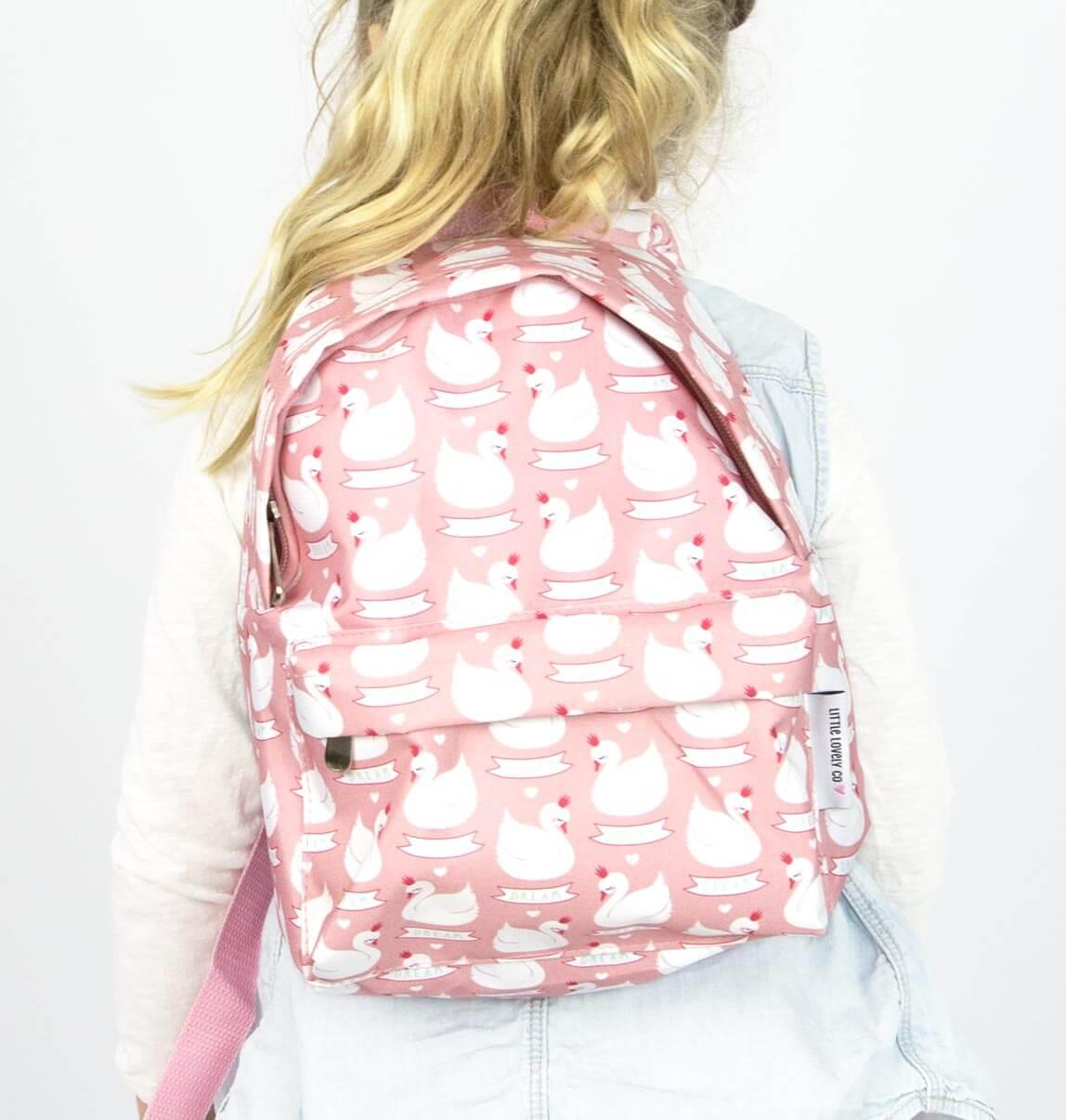 Mini hátizsák - Hattyú