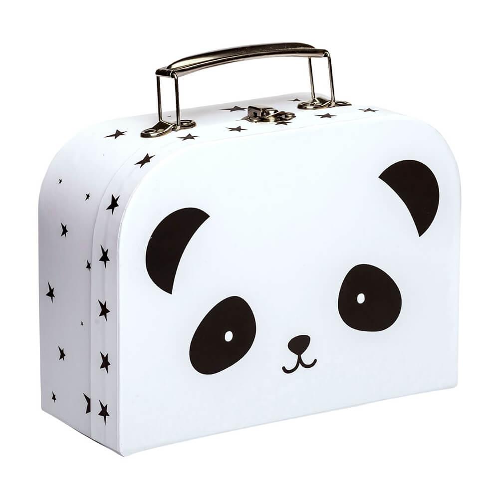 Mini bőrönd - panda