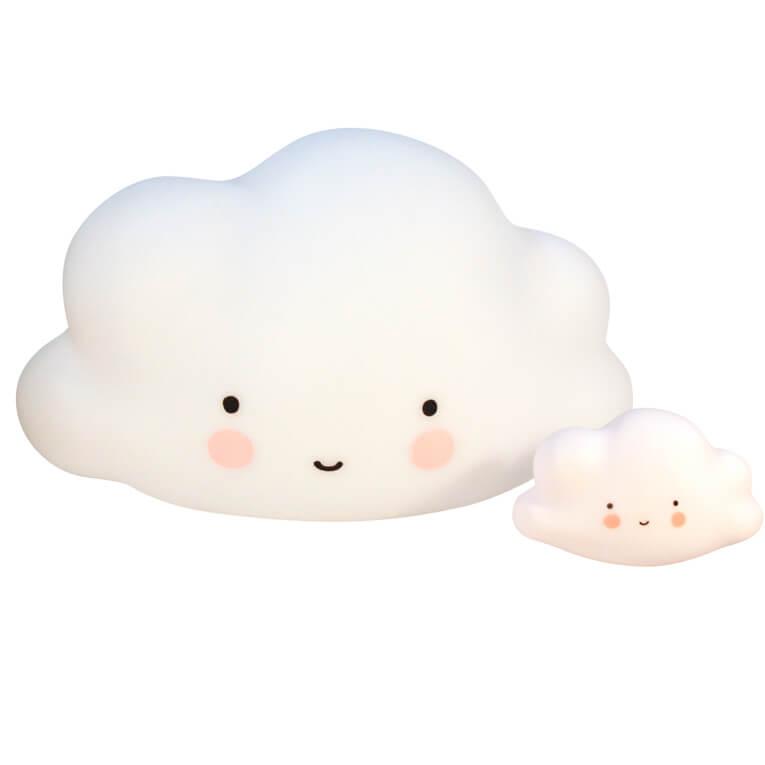 Éjjeli fény - nagy felhő