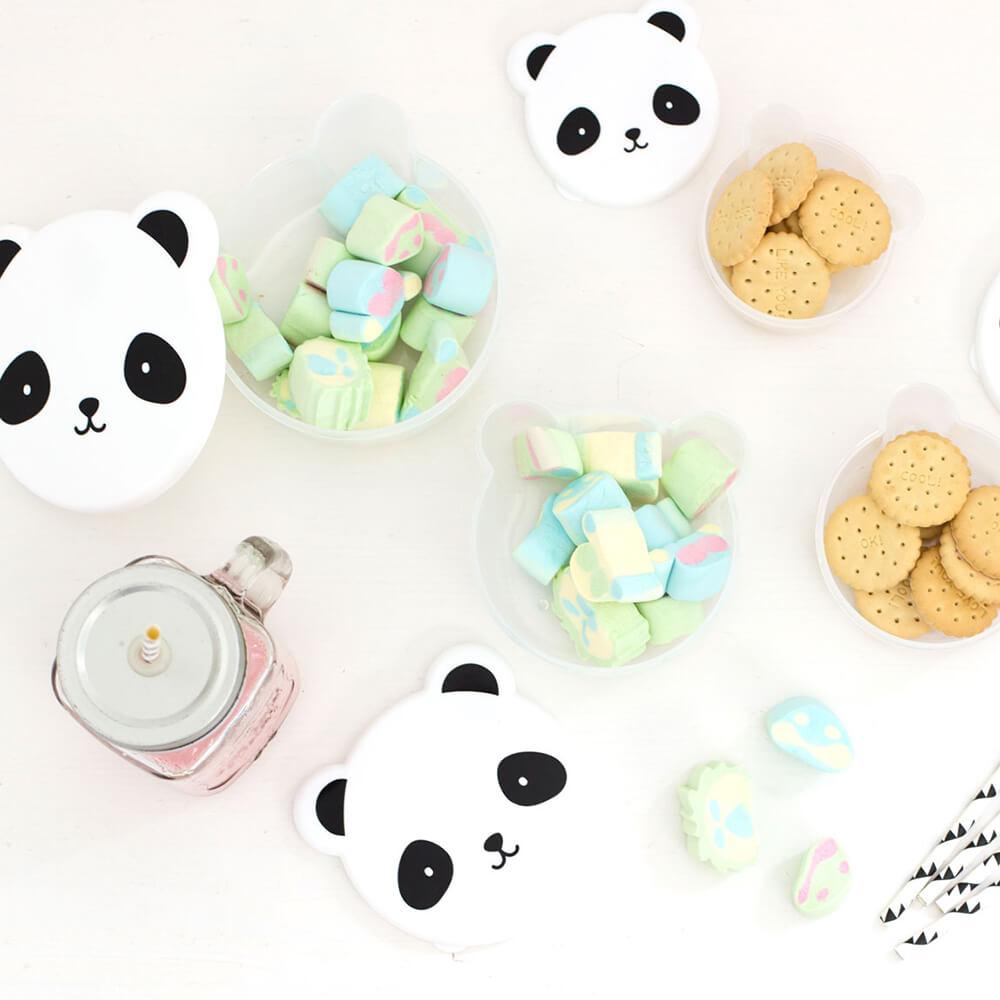 Uzsonnás doboz - panda