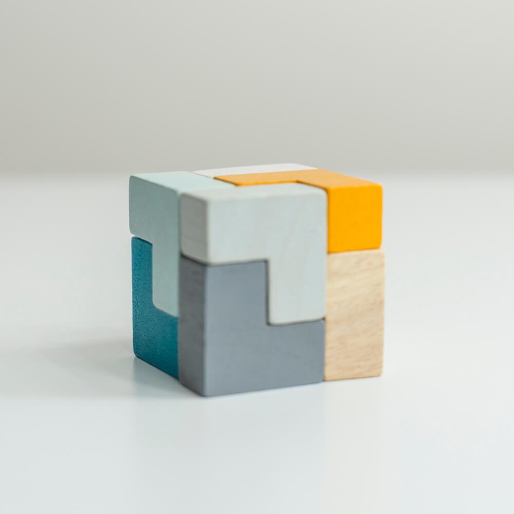 3D kocka puzzle
