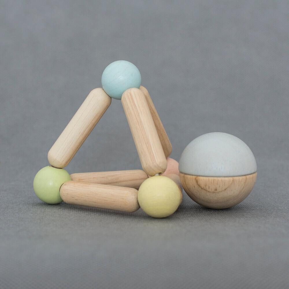 Fejlesztő háromszög - pasztell