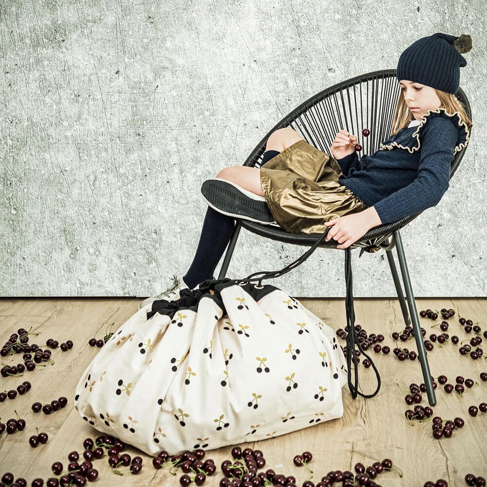Játéktároló zsák - Arany cseresznye