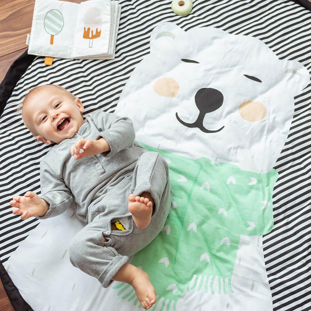 Játszószőnyeg - Jegesmedve