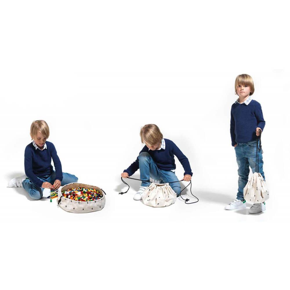 Játék tároló zsák mini - Villám