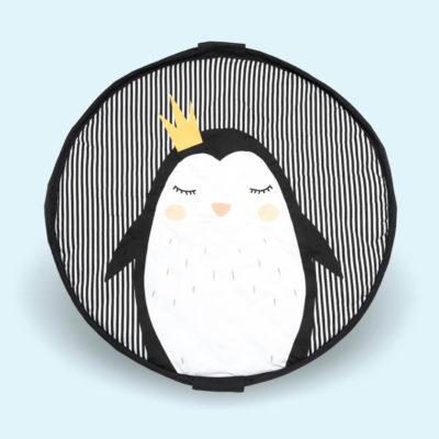 Play&Go játszószőnyeg és pelenkázó táska Pingvin.