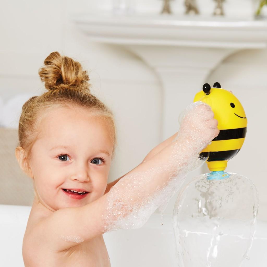 Fürdőjáték - szökőkút- méhecske