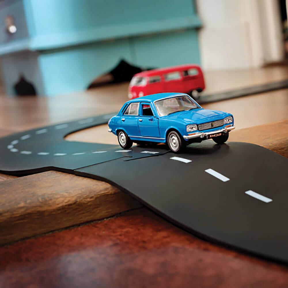 Rugalmas autópálya - kereszteződés
