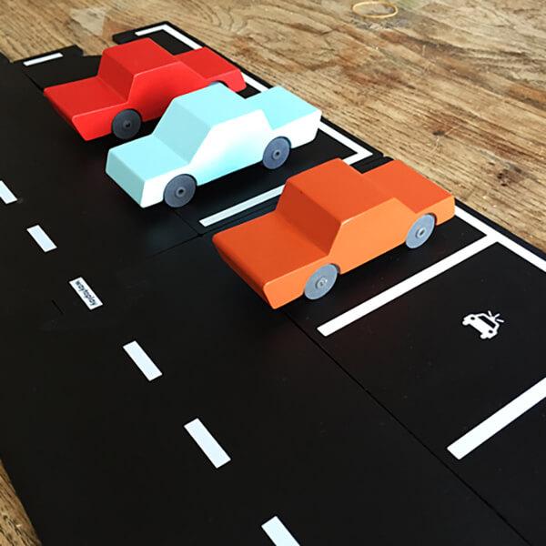 Rugalmas autópálya - parkoló