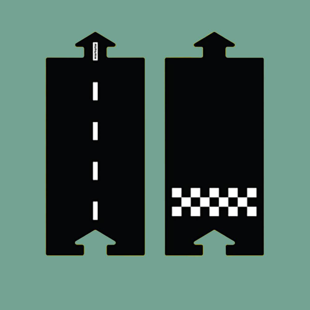 Rugalmas autópálya - rajt/cél