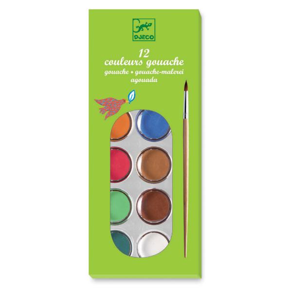 Gombfesték - 12 klasszikus szín
