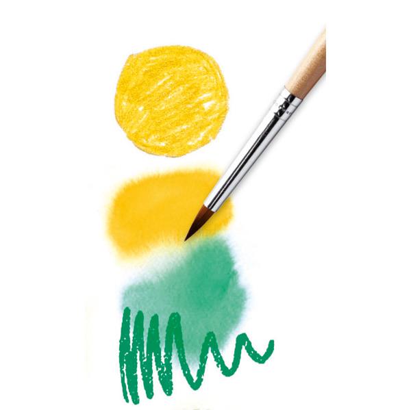 24 darabos akvarell ceruza készlet