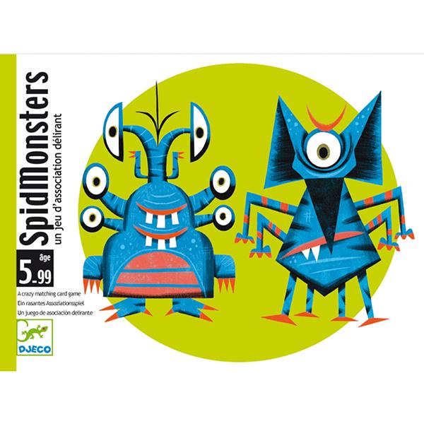 Kártyajáték - Spidmonsters