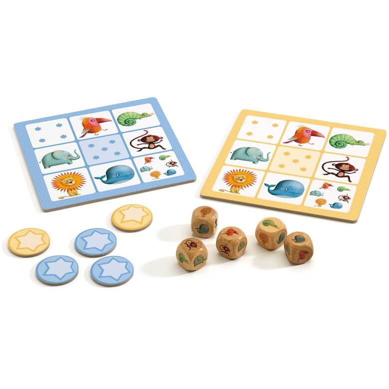 Társasjáték - Junior kockapóker