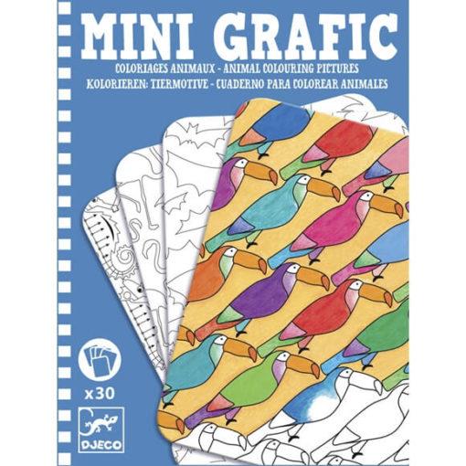 Mini Grafic - Állatok színező