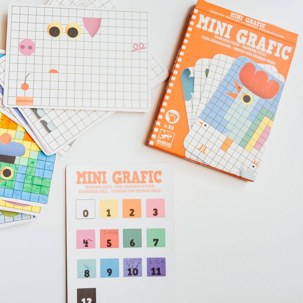 Mini Grafic - Pixel színező