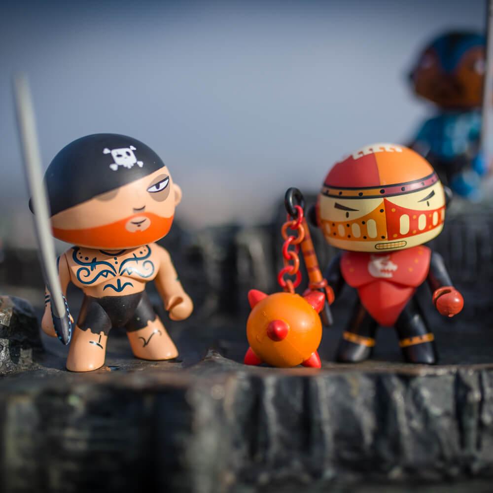 Arty toys - Tatoo kalóz