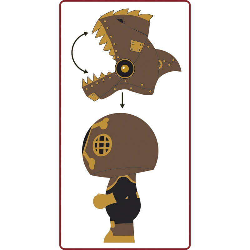 Arty toys - Pirat'Nha harcos