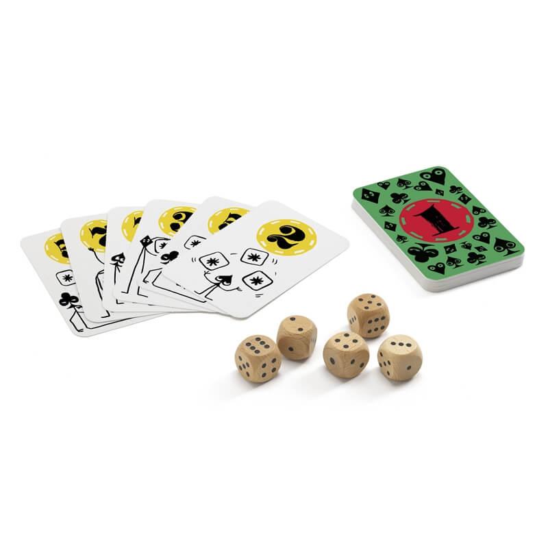 Társasjáték - Kockapóker