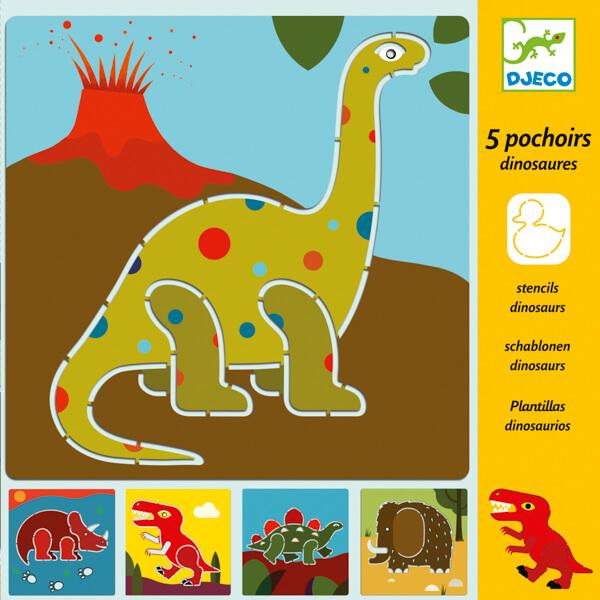 Sablon készlet - Dinoszauruszok