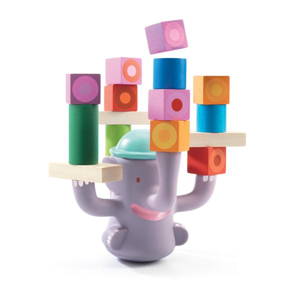 Egyensúlyozós építőjáték - A nagy bum