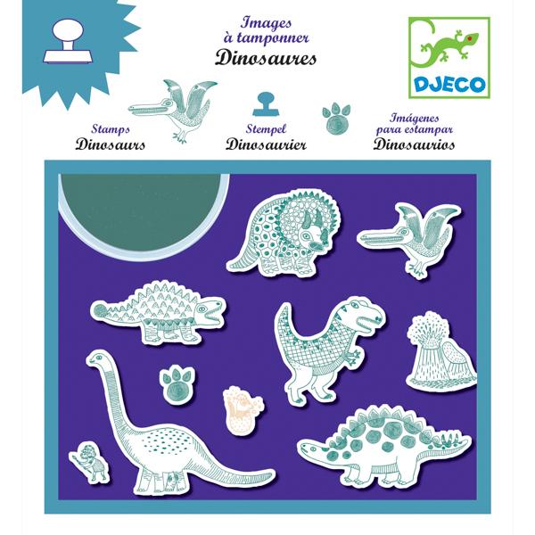 Nyomda készlet - Dinoszauruszok