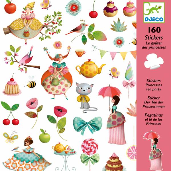 160 matrica - Hercegnős tea délután