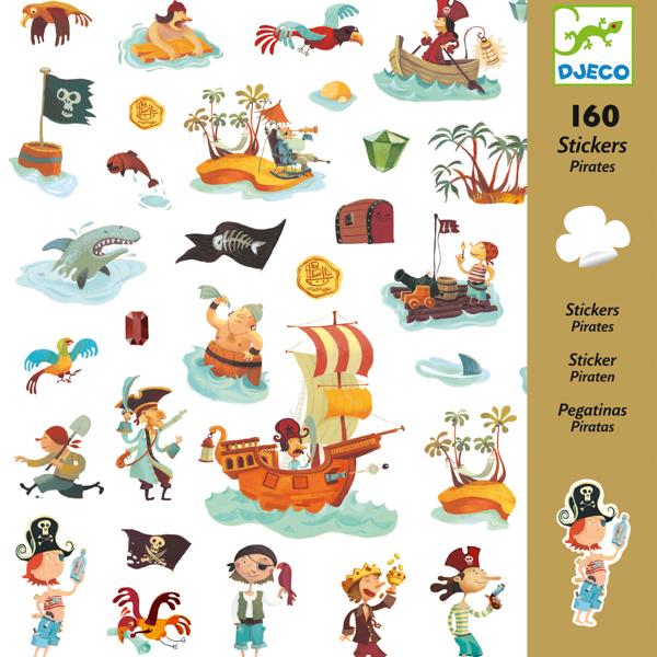 160 matrica - Kalózok