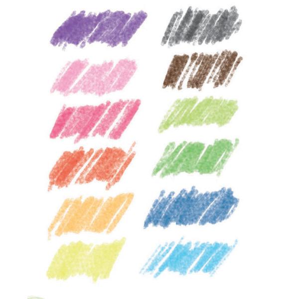 Akvarellceruza - Klasszikus színek