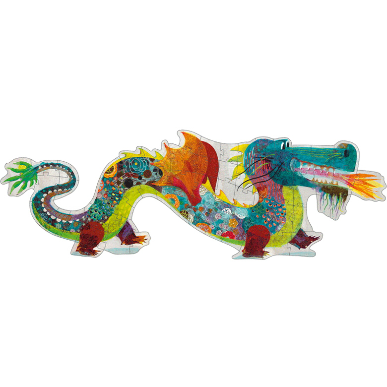 Óriás Kirakó - Leon a sárkány