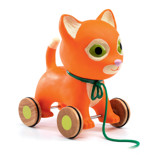 Húzós játék - Mila cica