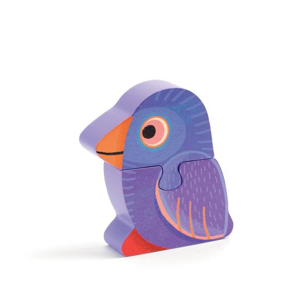3D fa kirakó - Papagály