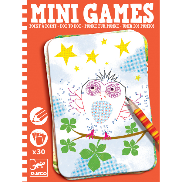 Mini Games - Pontról Pontra pontösszekötő