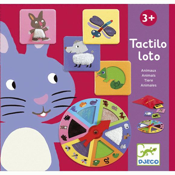 Társasjáték - Lotto tapintható állatok