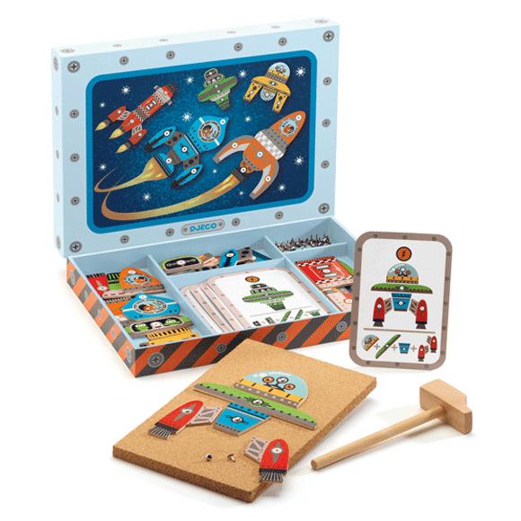 Kalapálós játék - Űr