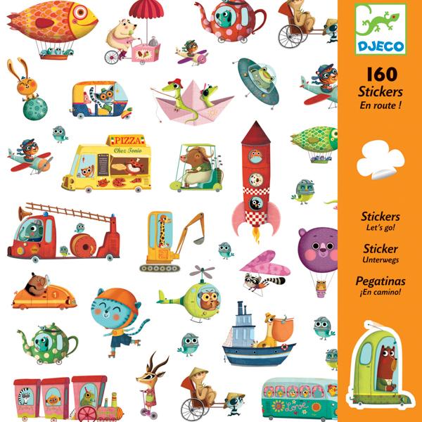 160 matrica - Utazzunk