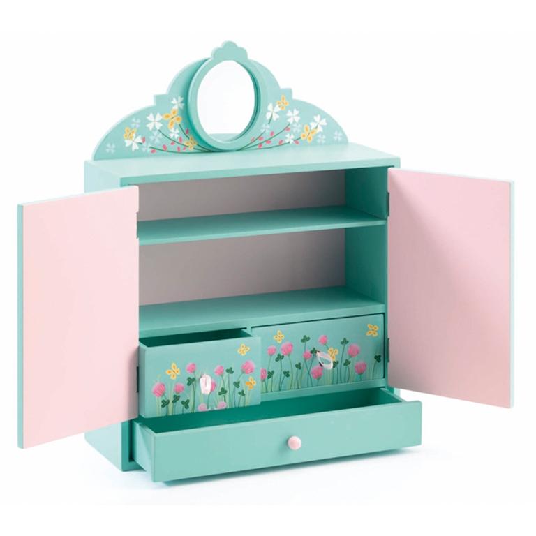 Mini szekrény - Virágos kert